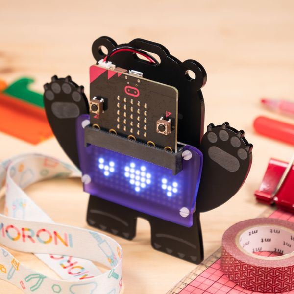 Scroll:bit kit - the bear from the future